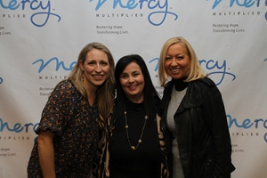 Laura Story and Miss Kay Robertson with Nancy Alcorn