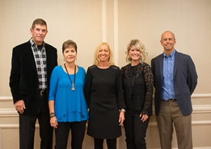 Dave and Joyce Meyer, Nancy Alcorn, Natalie Grant, and David Meyer