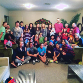 Monroe Mercy residents with Cypress St. COG friends