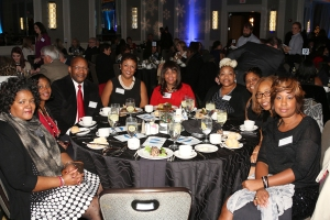 Pastor Jerome and Lisa Lewis with SOGBC women at Merry Mercy