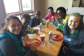Mercy residents enjoyed lunch with SOGBC friends