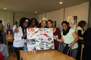 Celebrating a completed vision board
