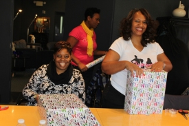 SOGBC volunteers helped with a special holiday project.