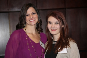 Featured Mercy graduates, Cacey and Emily
