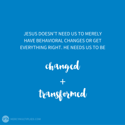 changed + transformed