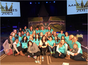 Nashville Mercy residents, grads and staff at the 2015 Made4This Conference